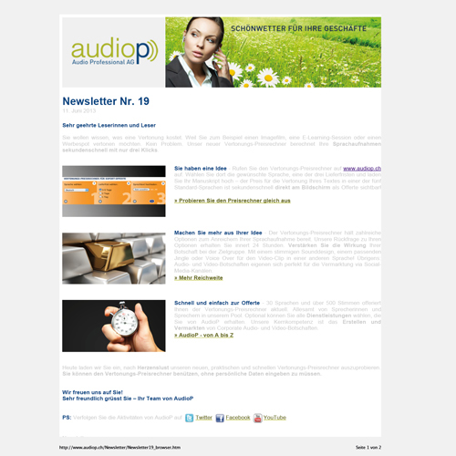 Audio Professional AG